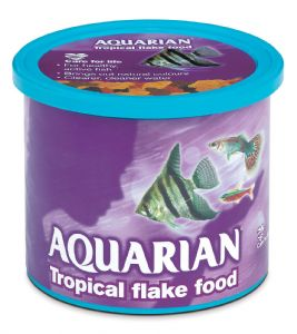 Aquarian 1Kg Tropical Fish Flake Aquarium Tank (5 x 200g)